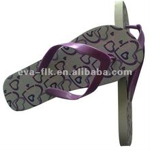 rubber slipper 2012 with printing