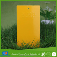 RAL 1028 Melon Yellow Spray Powder Coating Paint
