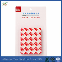 Extreme strength double sided self adhesive sticker paper