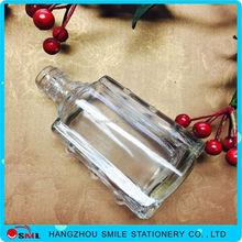 hot sale clear fancy glass cooking olive oil bottle/wine bottles