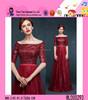 2015 Newest Design Paillette Fashion Dress Middle Sleeve High Quality Long Dubai Evening Dress