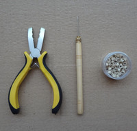 micro ring pliers pulling needle for keratin pre bonded hair extensions