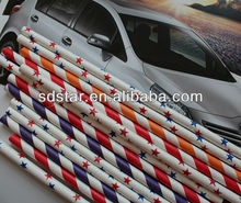 HY brand food grade striped paper drinking straws
