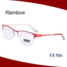 Women flex metal optical frame eyewear eyeglass