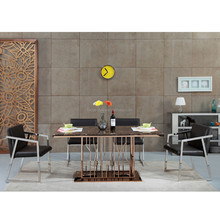 marble dining table set with top glass