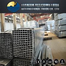 MS Carbon Black Steel Square Tubes / Galvanized / Pre Galvanized Square Tube