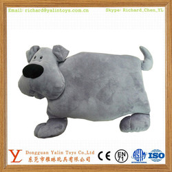 Stuffed Animal Cushion Dog