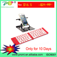 Pocket Size Mini Folding Wireless Bluetooth Keyboard for Android phone PK-15