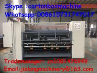 full automatice flexo ink printer slotter die cutter machine/carton box printing machine prices/corrugated cardboard making