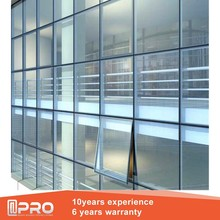glass decoration and glass curtain wall price for glass curtain wall for commercial building
