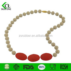 HOT china supply baby teether necklace