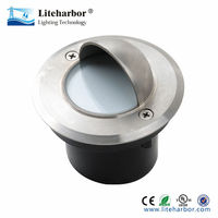 floor deck stainless steel low voltage mr16 led in-ground lights