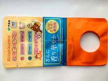 laminated compound plastic toy 3 side seal gift bags for plastic botttle