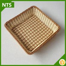 Kitchen Use Cheap Flat Wicker Basket