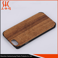 2015 China best sale Shock proof SZSHC10 bamboo cell phone case for iphone