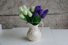 NZ-6017 wholesale decorative artificial flowers smile flower 9 buds
