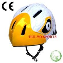 Animal child helmet , cartoon bicycle helmet, eagle looking