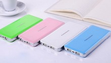 HOT 2015 products Portable slim power bank 8000mah dual port