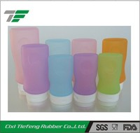 Soft Squeeze Silicone Travel Bottle Tube for shampoo