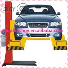 Portable Single post car lift for sale , Hydraulic single post car Lifter , Single post car lift for car wash