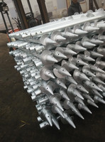 hot galvanized screw pole anchor with good quality