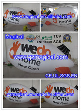 big commercial inflatable advertising goods/ inflatable helium blimp