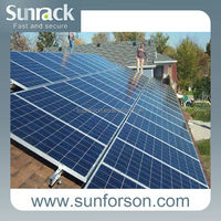 Different roof solar panel bracket mounting with a competitive price