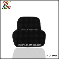 Car mats Floor mats TPR mat Black Polyester fabric Universial Size rear