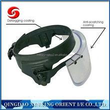 bulletproof ballistic helmet visor for police