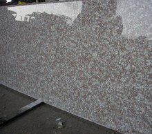 pink granite slabs table top