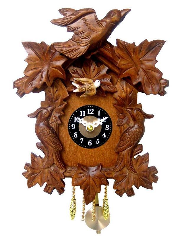 Quartz wooden cuckoo clock buy clock product on - Wooden cuckoo clocks ...