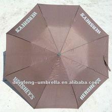 2 folds nylon parasol umbrella wind protection folding umbrella auto open