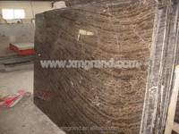 Chinese coffee brown marble stone, square marble top coffee table