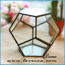 Hot sale indoor plant holders, unique glass containers, clear hanging glass vases