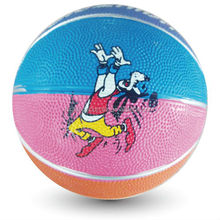 2014 hot sale mini rubber basketball for kids cheap toy balls for promotion