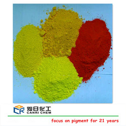 ISO iron oxide factory sell red oxide and yellow ceramic paint for concrete/ceramic/making paint
