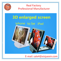 New product Larger screen mobile phone 3D smartphone screen amplifier
