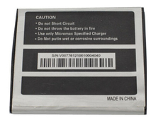 Made in china smartphone battery mobile phone battery for micromax X11