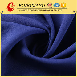 Fabric textile supplier High quality Casual Garments chiffon fabric composition