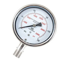 Ultra high pressure gauge