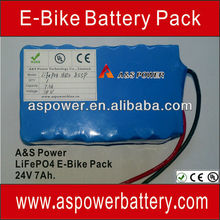 Popular sell!!!high capacity 24v 40ah li-ion electric bicycle battery pack with BMS