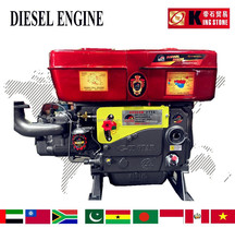 4 STROKE SINGLE CYLINDER ZS1115 DIESEL ENGINE
