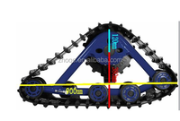 SUV/TRUCK/TRACTOR/PICKUP RUBBER TRACK SYSTEM