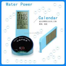 Factory promotional gift water clock,water power digital clock