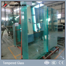 Flat and curved tempered 4mm glass price