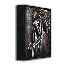 Sexy nude body painting wall decor wood plaques nude painting