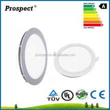 2015 hot deal led recessed panel light, round led panel light for indoor