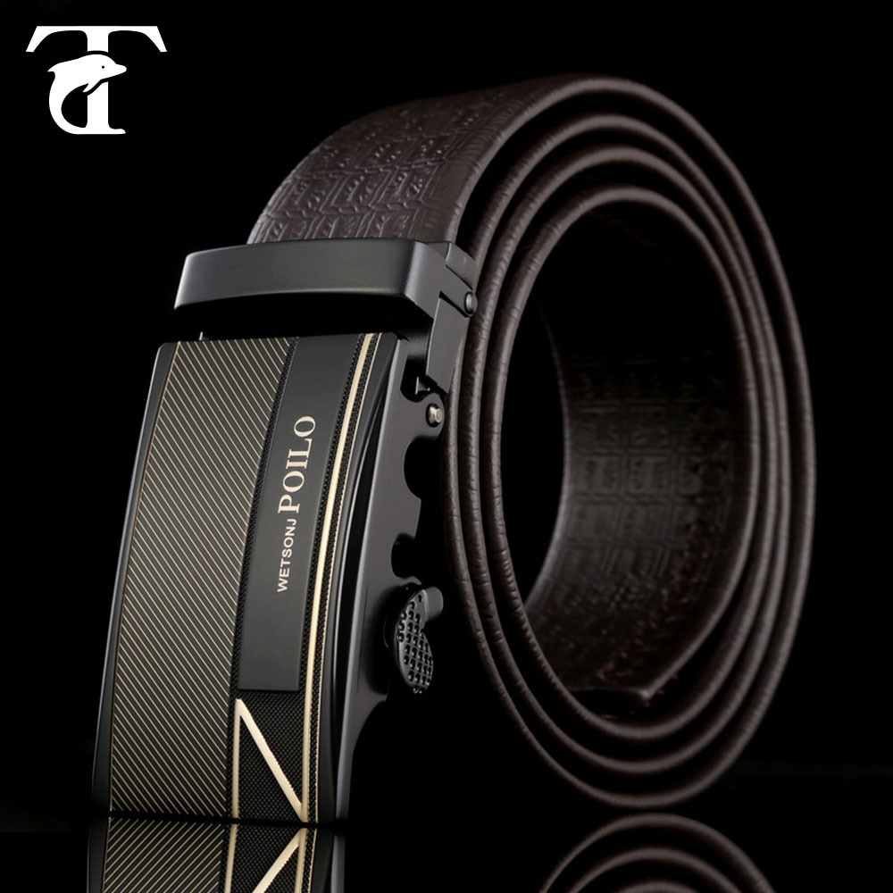 wholesale leather belt straps buckle genuine leather belt