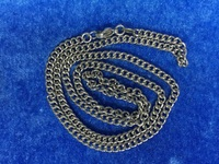 24 Inch Long 1 mm Thick 316 Stainless steel Teenagers's Neck Curb Link Chain For Key Hanging Use