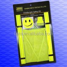 EN 13356 slap band and EN 471 vest set/reflective set